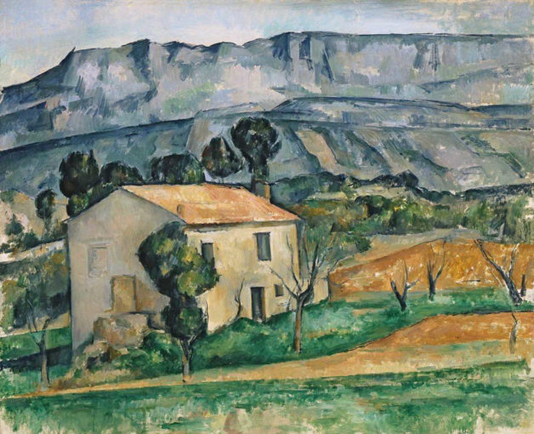 Acuarela de Cézanne. Aprendiendo las técnicas acuarelables
